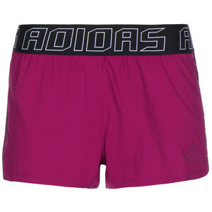 Pacer 3-Stripes Laufshorts Damen, pink / schwarz, zoom bei OUTFITTER Online