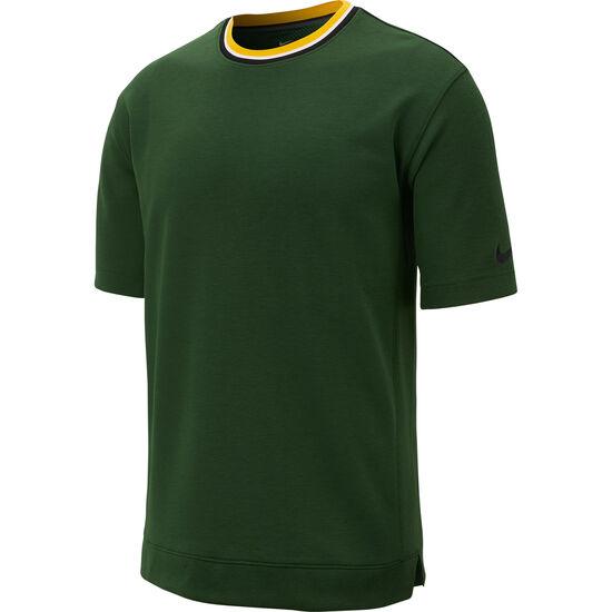 Hoop Fly T-Shirt Herren, dunkelgrün / gelb, zoom bei OUTFITTER Online