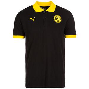 Borussia Dortmund Badge Poloshirt Herren, Schwarz, zoom bei OUTFITTER Online