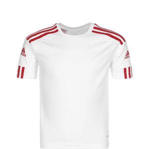 Squadra 21 Fußballtrikot Kinder, weiß / rot, zoom bei OUTFITTER Online