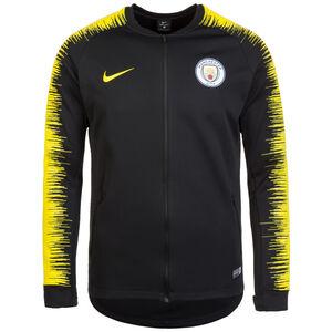 Manchester City Anthem Trainingsjacke Herren, schwarz / gelb, zoom bei OUTFITTER Online