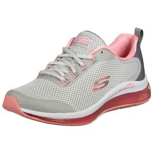 Mesh Lace Up Sneaker Damen, grau / pink, zoom bei OUTFITTER Online