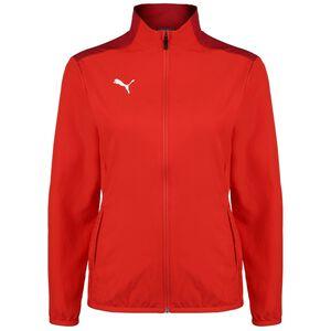 TeamGOAL 23 Sideline Trainingsjacke Damen, rot, zoom bei OUTFITTER Online