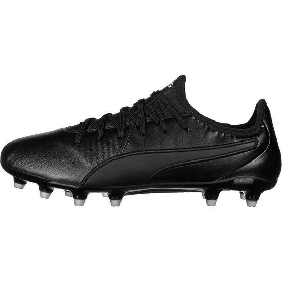 King Pro FG Fußballschuh Herren, schwarz / weiß, zoom bei OUTFITTER Online