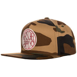 Scope Snapback Cap, braun / oliv, zoom bei OUTFITTER Online