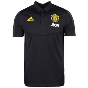 Manchester United Poloshirt Herren, schwarz / gelb, zoom bei OUTFITTER Online