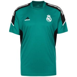 Real Madrid Trainingsshirt Herren, petrol / schwarz, zoom bei OUTFITTER Online