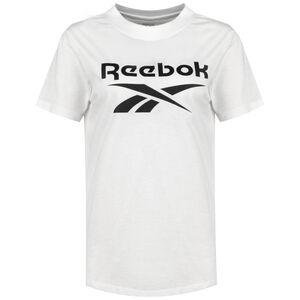 Identity Logo T-Shirt Damen, weiß / schwarz, zoom bei OUTFITTER Online