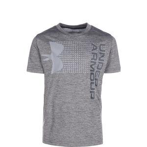 Crossfade Trainingsshirt Kinder, schwarz / grau, zoom bei OUTFITTER Online