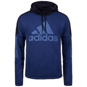 Sport ID Logo Kapuzenpullover Herren, blau / weiß, zoom bei OUTFITTER Online