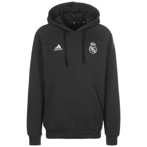 Real Madrid Travel Kapuzenpullover Herren, anthrazit, zoom bei OUTFITTER Online