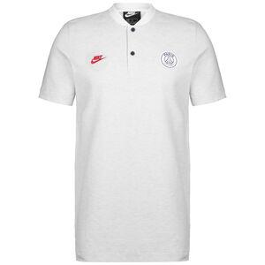 Paris St.-Germain Poloshirt Herren, weiß / rot, zoom bei OUTFITTER Online