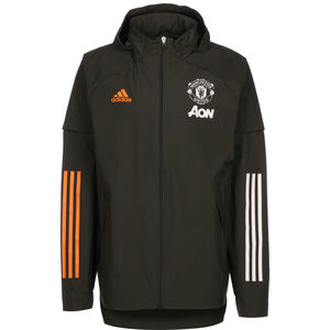 Manchester United All Weather Jacke Herren, graugrün, zoom bei OUTFITTER Online