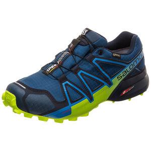 Speedcross 4 GTX Trail Laufschuh Herren, blau / hellgrün, zoom bei OUTFITTER Online