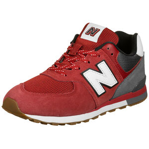 GC574-M Sneaker Kinder, rot / grau, zoom bei OUTFITTER Online