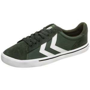 Nile Canvas Low Sneaker, oliv, zoom bei OUTFITTER Online