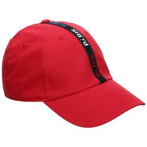 Paris St.-Germain Jordan H86 Strapback Cap, rot / schwarz, zoom bei OUTFITTER Online