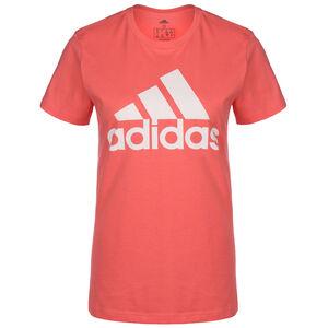 Must Haves Badge Of Sport Trainingsshirt Damen, rot / weiß, zoom bei OUTFITTER Online