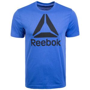 QQR Trainingsshirt Herren, blau / schwarz, zoom bei OUTFITTER Online