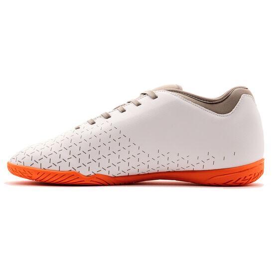 Velocita V Club Indoor Fußballschuh Herren, weiß / orange, zoom bei OUTFITTER Online