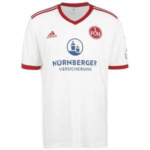 1. FC Nürnberg Trikot Away 2021/2022 Herren, weiß / rot, zoom bei OUTFITTER Online