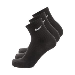 Cushioned Crew Socken 3er Pack Kinder, schwarz / weiß, zoom bei OUTFITTER Online