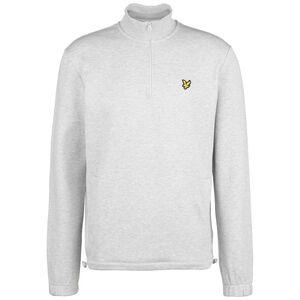 Pique 1/4 Zip Sweatshirt Herren, hellgrau, zoom bei OUTFITTER Online