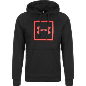 Rival Fleece Logo Kapuzenpullover Herren, schwarz, zoom bei OUTFITTER Online