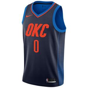 NBA Oklahoma City Thunder #0 Westbrook Basketballtrikot Herren, dunkelblau, zoom bei OUTFITTER Online