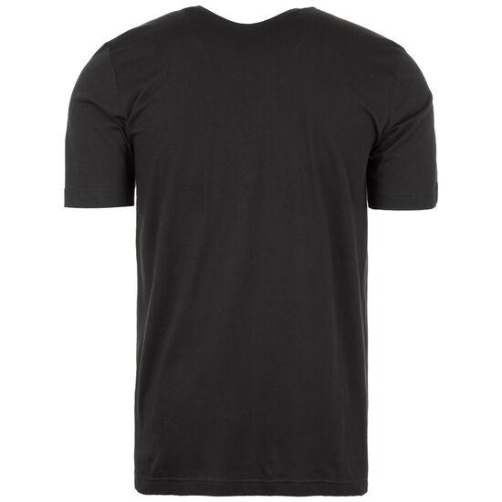 Emblem Trainingsshirt Herren, schwarz / weiß, zoom bei OUTFITTER Online