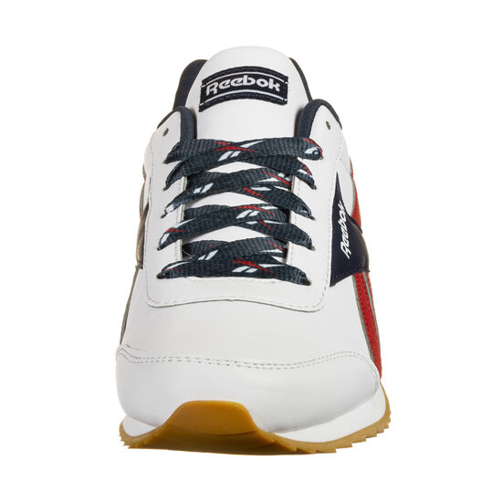 Royal Classic Jog Sneaker Kinder, weiß / rot, zoom bei OUTFITTER Online