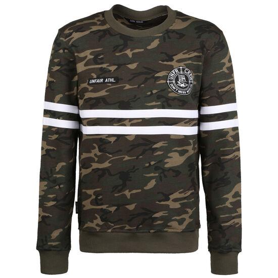 DMWU Sweatshirt Herren, khaki / braun, zoom bei OUTFITTER Online