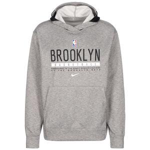 NBA Brooklyn Nets Spotlight Kapuzenpullover Herren, grau / schwarz, zoom bei OUTFITTER Online
