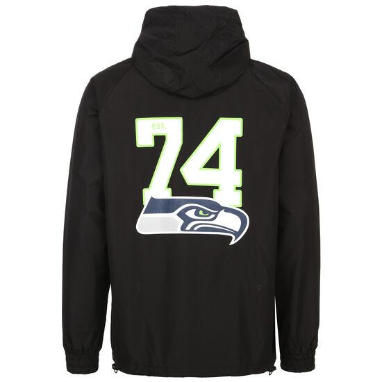 NFL Overlap Logo Seattle Seahawks Windbreaker Herren, schwarz / grün, zoom bei OUTFITTER Online