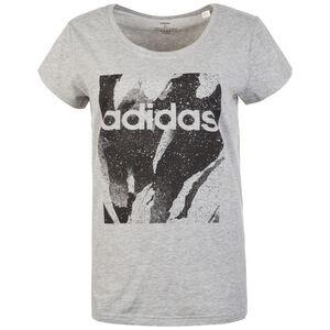 Essentials Season All Over Print T-Shirt Damen, grau / schwarz, zoom bei OUTFITTER Online
