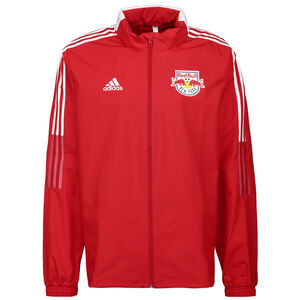 Red Bull New York FC All Weather Jacke Herren, rot / weiß, zoom bei OUTFITTER Online