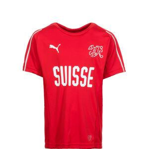 Schweiz Trainingsshirt WM 2018 Kinder, Rot, zoom bei OUTFITTER Online