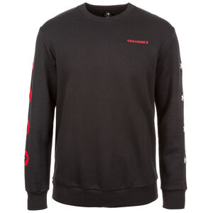 Star Chevron Graphic Crew  Sweatshirt Herren, schwarz, zoom bei OUTFITTER Online