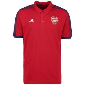 FC Arsenal 3-Streifen Poloshirt Herren, rot / dunkelblau, zoom bei OUTFITTER Online