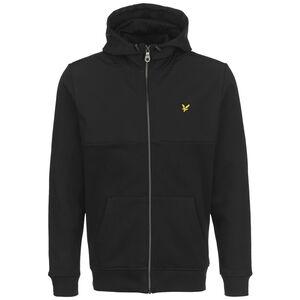 Softshell Jersey Zip Kapuzenjacke, schwarz, zoom bei OUTFITTER Online