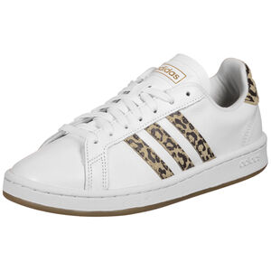 Grand Court Sneaker Damen, weiß / braun, zoom bei OUTFITTER Online