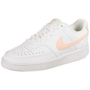 Court Vision Sneaker Damen, weiß / korall, zoom bei OUTFITTER Online