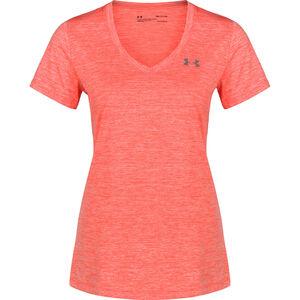 HeatGear Twisted Tech Trainingsshirt Damen, rot, zoom bei OUTFITTER Online
