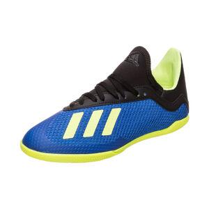 X Tango 18.3 Indoor Fußballschuh Kinder, Blau, zoom bei OUTFITTER Online