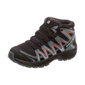 XA Pro 3D Mid Trail Laufschuh Kinder, schwarz / rot, zoom bei OUTFITTER Online