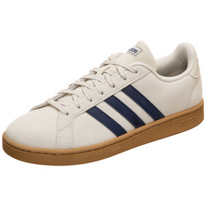 Grand Court Sneaker Herren, beige / dunkelblau, zoom bei OUTFITTER Online