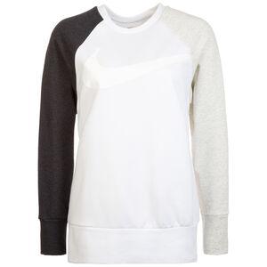 Dry Swoosh Trainingssweat Damen, weiß / schwarz, zoom bei OUTFITTER Online