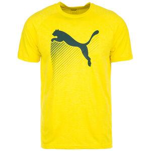 The CAT Heather Trainingsshirt Herren, gelb / schwarz, zoom bei OUTFITTER Online