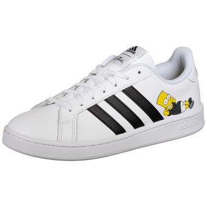 Grand Court Sneaker Herren, weiß / gelb, zoom bei OUTFITTER Online