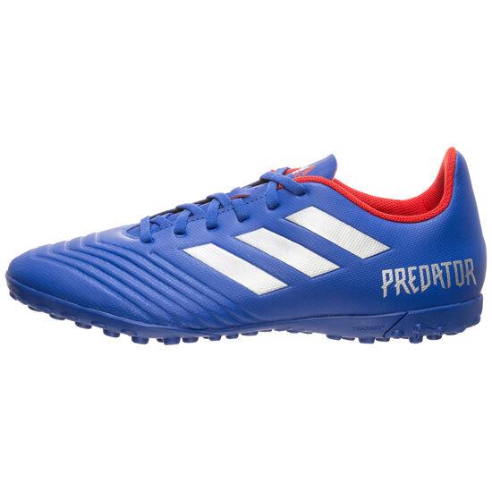 Predator 19.4 TF Fußballschuh Herren, blau / silber, zoom bei OUTFITTER Online